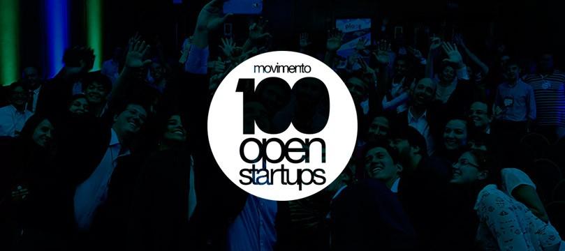 100 open startups logo